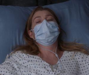 """Na 17ª temporada de """"Grey's Anatomy"""", Meredith (Elllen Pompeo) está com Covid-19 e batalhando pela vida"""