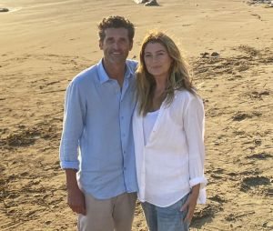"""""""Grey's Anatomy"""": teaser mostra Meredith (Ellen Pompeo) e Derek (Patrick Dempsey) abraçados e fãs se preocupam com destino de personagem"""