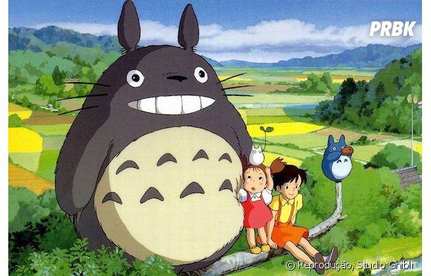 """Studio Ghibli: """"Meu Amigo Totoro"""" é um dos filmes mais assistidos"""