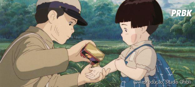 """Túmulo dos Vagalumes"": filme do Studio Ghibli fala sobre a vida de irmãos na guerra"