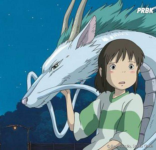 """Studio Ghibli é responsável pelo único anime que ganhou Oscar: """"A Viagem de Chihiro"""""""
