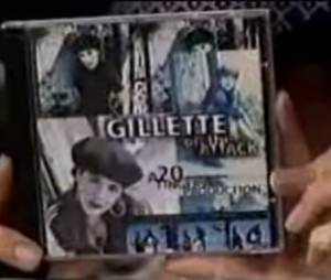 "Visita da banda ""Gillette"""