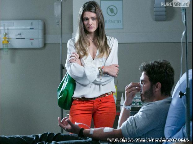 """Lili (Juliana Paiva) atropelará William (Thiago Rodrigues) e o levará para o hospital em """"Além do Horizonte"""""""