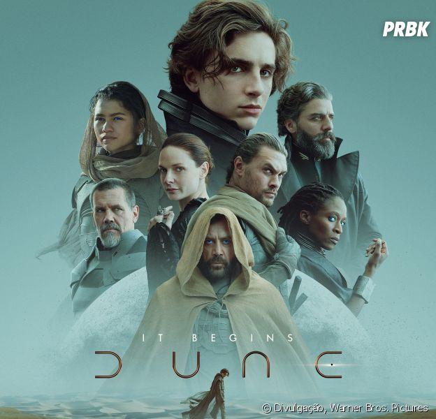 """Vem conferir tudo que sabemos sobre """"Duna"""", o novo filme da Warner Bros., estrelado por Timothée Chalamet e Zendaya"""