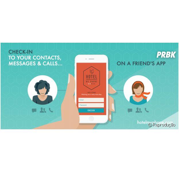 """Conheça o aplicativo """"Hotel My Phone"""" para salvar quando você fica sem bateria"""