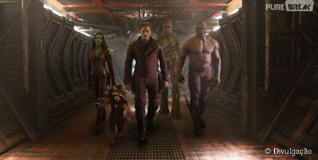 """""""Guardiões da Galáxia"""" foi um dos maiores queridinhos do público em 2014"""