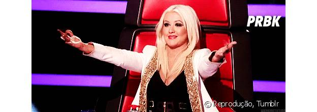 """Christina Aguilera volta para nova temporada no """"The Voice US"""""""