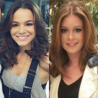 Bruna Marquezine ou Marina Ruy Barbosa? Quem ficou mais bonita com o corte long bob?
