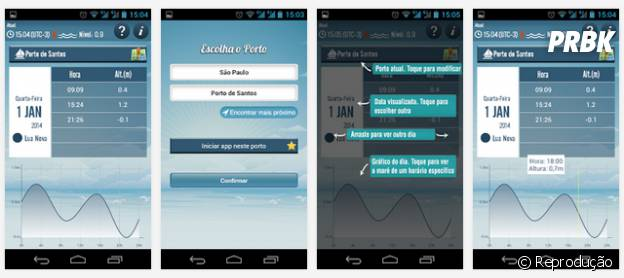 """""""Tábua das Marés"""" é um aplicativo essencial para não tomar caixote no mar"""