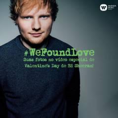 Ed Sheeran pede para fãs brasileiros mandarem fotos para clipe especial!