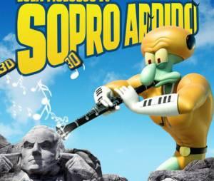 """Que tal reunir os amigos para assistir """"Bob Esponja - Um Herói Fora D'Água""""?"""