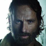 """Em """"The Walking Dead"""": Na 5ª temporada, Rick, Michonne e cia aparecem em portão misterioso!"""