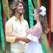 "Novela ""Boogie Oogie"": Dani (Alice Wegmann) e Rodrigo (Brenno Leone) finalmente se casam!"