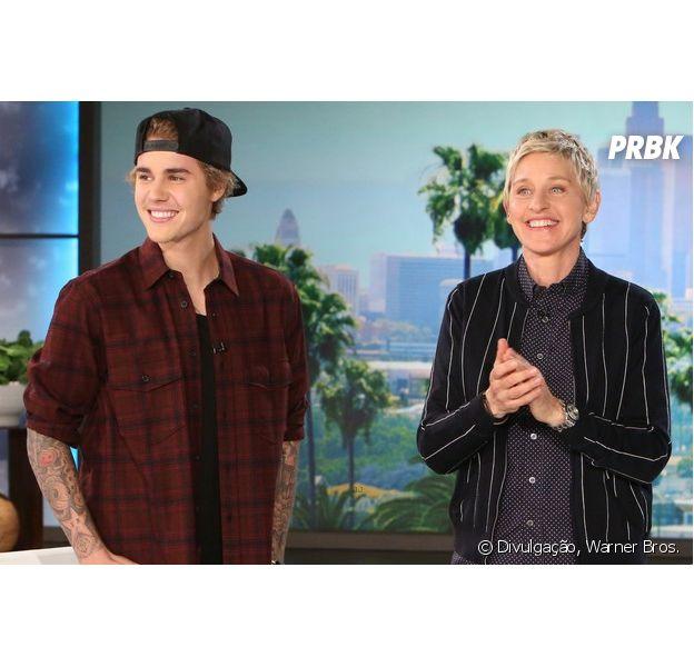 """Justin Bieber no """"The Ellen DeGeneres Show"""": Cantor fala sobre vídeo de desculpas aos fãs"""