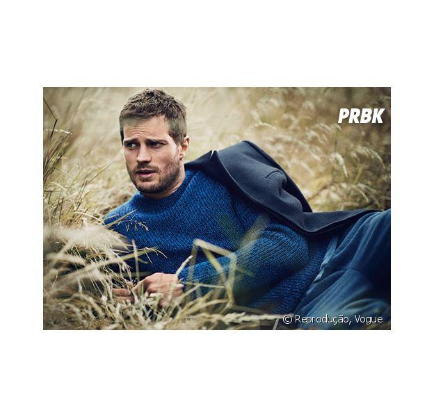 "Jamie Dornan, o Christian Grey de ""Cinquenta Tons de Cinza"""