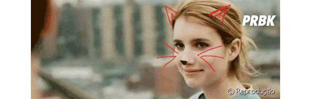 Emma Roberts faz aniversário! Celebre os 24 anos de idade da atriz com muitos gifs