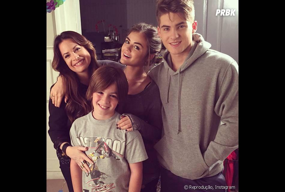 """Cody Christian, agora de """"Teen Wolf"""", era Mike Montgomery em """"Pretty Little Liars"""", o irmão da Aria (Lucy Hale)"""