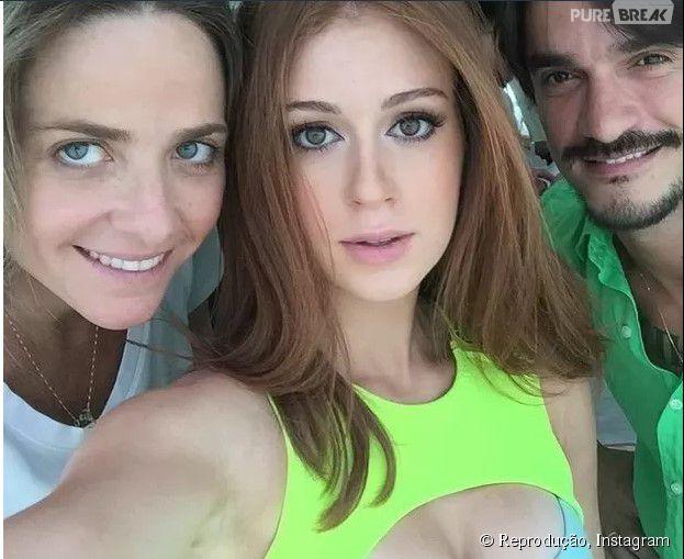 Marina Ruy Barbosa mostra look decotado em foto do Instagram