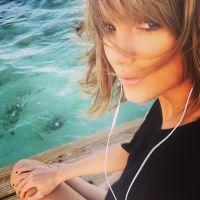 """Taylor Swift solta mais um vídeo misterioso do clipe """"Style"""" e fãs fazem contagem regressiva na web"""