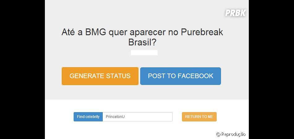 Todos querem estar no PureBreak Brasil!