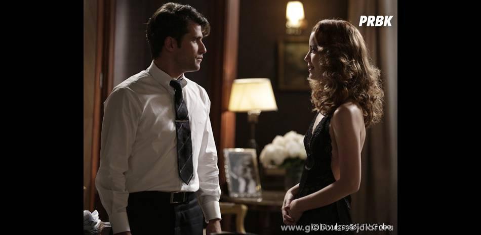 """Depois da morte de Silvia (Nathalia Dill), Franz (Bruno Gagliasso) desconfiará do caso dela com seu irmão em""""Joia Rara"""""""