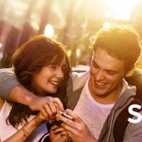 """Filme """"Simplesmente Acontece"""", com Lily Collins e Sam Claflin: O casal na piscina em cena exclusiva!"""