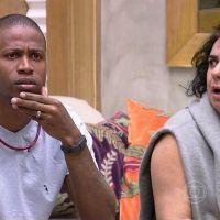 """No """"BBB15"""": Luan recebe punição de Bial após roubar comida da festa! OMG!"""