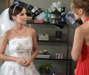 """Maria Clara (Andreia Horta) pediu para Cristina (Leandra Leal) ser sua madrinha de casamento em """"Império"""""""