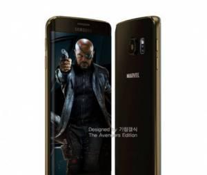"""Esse Samsung Galaxy S6 do Nick Fury, de """"Os Vingadores 2"""", é pra durar a vida toda!"""