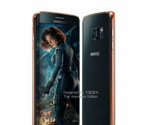 """O Samsung Galaxy S6 daViúva Negra, de """"Os Vingadores 2"""" é tão bonito quanto ela"""