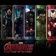 "Filme ""Os Vingadores 2: A Era de Ultron"" pode inspirar versão temática do Samsung Galaxy S6"