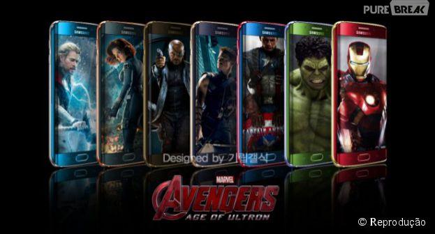 """Samsung Galaxy S6 pode ganhar acessórios personalizados de """"Os Vingadores 2"""""""