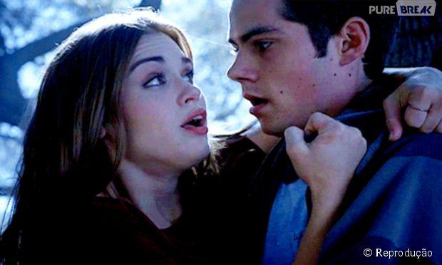 """Você torce para Lydia (Holland Roden) e Stiles (Dylan O'Brien) em """"Teen Wolf""""?"""