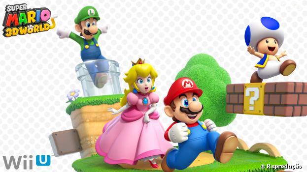 """O foco no multiplayer é a principal caracteristica de  """"Super Mario 3D World"""""""