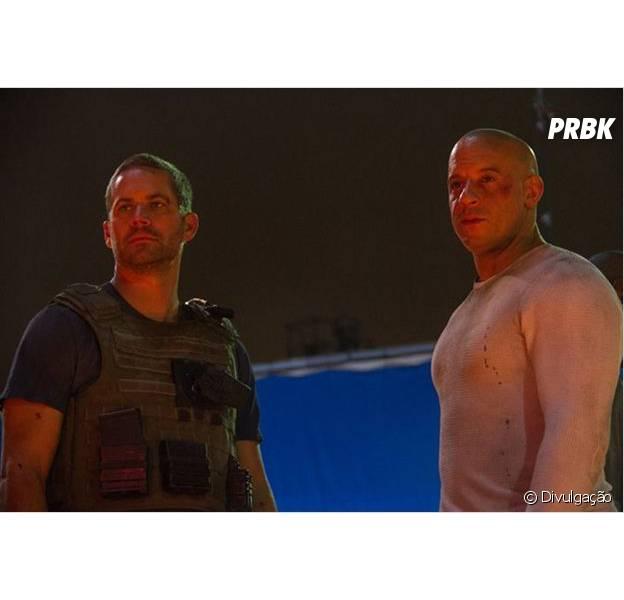 """Paul Walker e Vin Diesel estrelam a continuação da franquia em """"Velozes e Furiosos 7"""""""