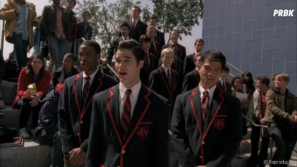 """Como não lembrar de Blaine (Darren Criss) e os Warblers em """"Glee""""?"""
