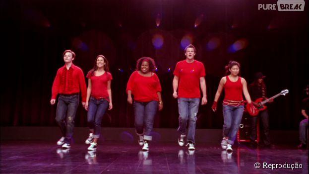 """Quem não se lembra da primeira apresentação dos protagonistas de """"Glee""""?"""
