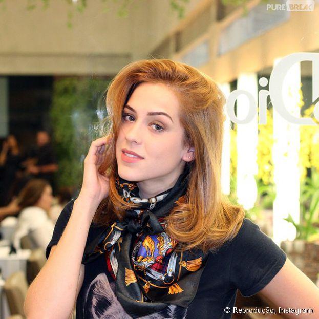 """Para """"Alto Astral"""", Sophia Abrahão adotou o famoso corte de cabelo long bob"""