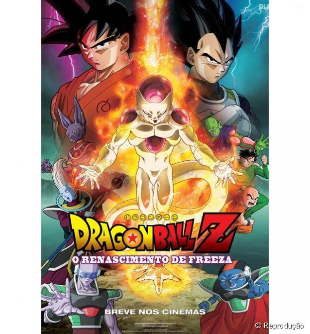 """Filme """"Dragon Ball Z: O Renascimento de Freeza"""" ganha pôster nacional"""
