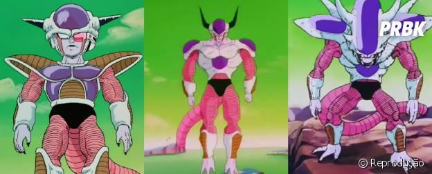 """Conheça as diferentes formas de Freeza que não devem aparecer no filme """"Dragon Ball Z: O Renascimento de Freeza"""""""