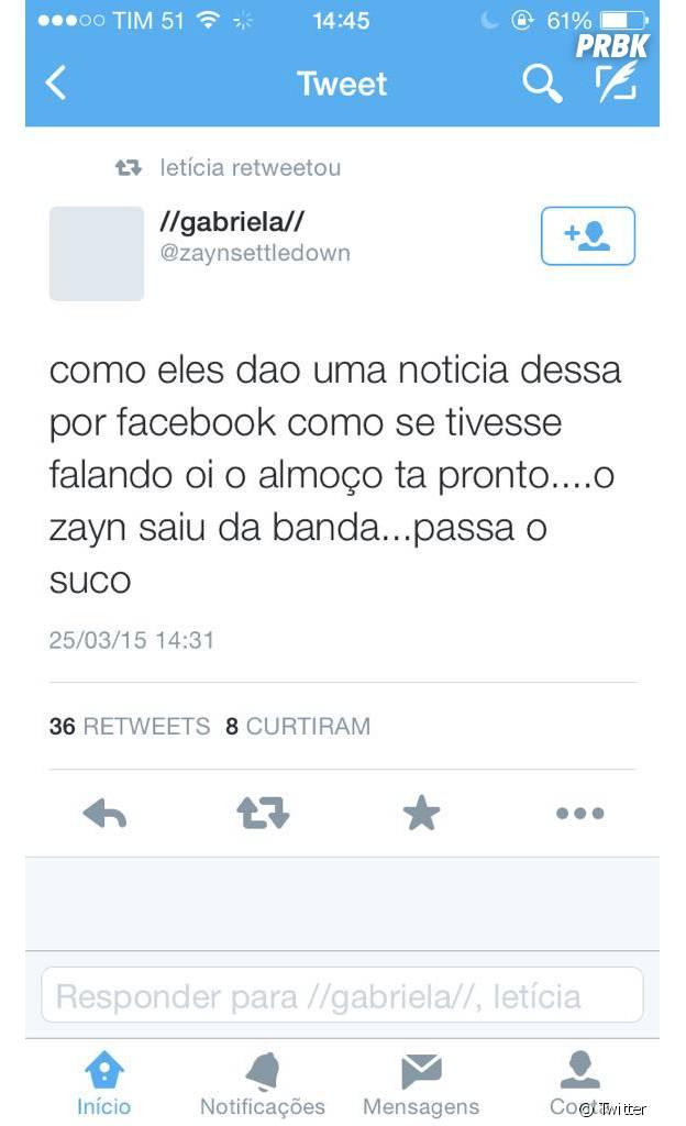 Zayn Malik sai do One Direction: fãs reagem no Twitter