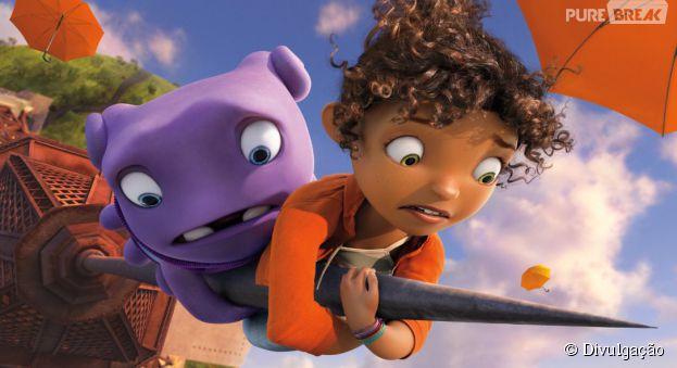 """Estrelando Rihanna no time de dubladores, """"Cada Um na Sua Casa"""" tem tudo pra ser o novo queridinho das animações!"""
