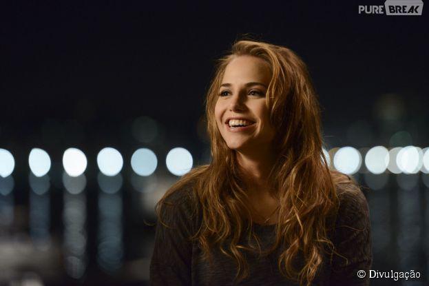 """Letícia Colin mostra toda sua alegria em protagonizar """"Ponte Aérea"""""""