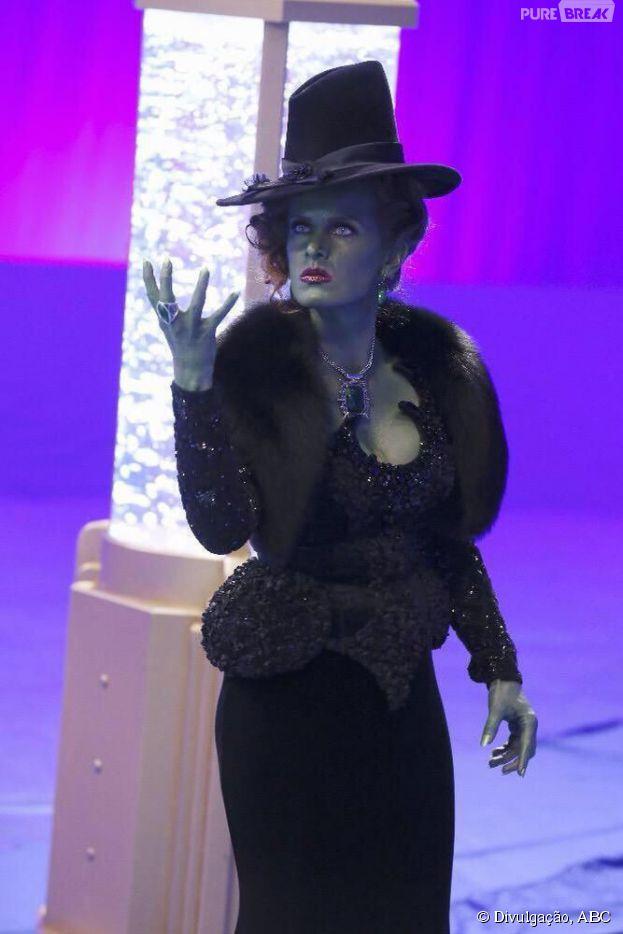 """Zelena (Rebecca Mader) está de volta em """"Once Upon a Time"""""""