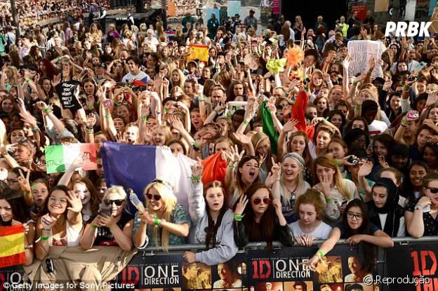 O One Direction é famoso em diversos lugares do mundo