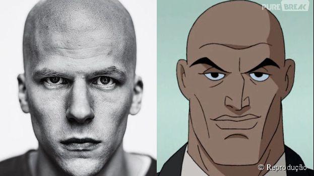 """Jesse Eisenberg vai aparecer carequinha, na pele do Lex Luthor, em """"Batman V Superman: A Origem da Justiça"""""""