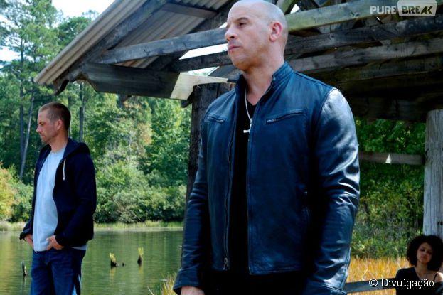 """""""Velozes & Furiosos 7"""", com Paul Walker e Vin Diesel, promete fazer ainda mais sucesso!"""