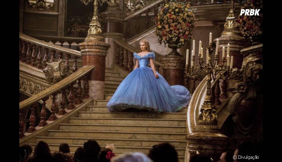 """Lily James e Richard Madden encantam a todos em """"Cinderela"""", da Disney"""