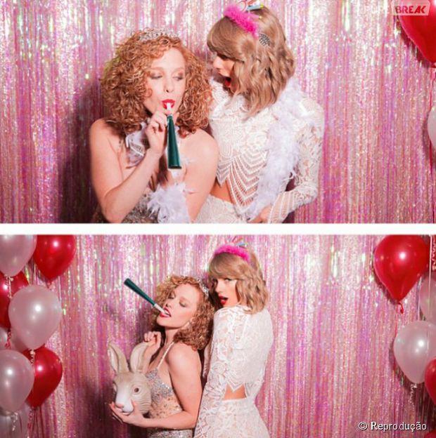 Taylor Swift faz festa surpresa para amiga e conta com presença de ... c3ae2841ba
