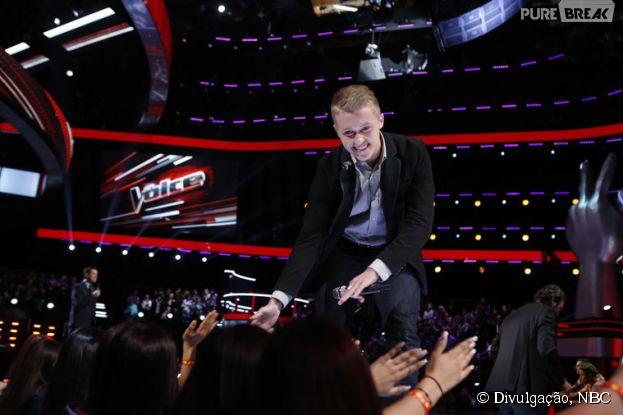 """Sétima temporada do """"The Voice US"""" conta com participantes incríveis, como Corey Kent White, Sawyer Fredericks, Kimberly Nichole e Deanna Johnson"""